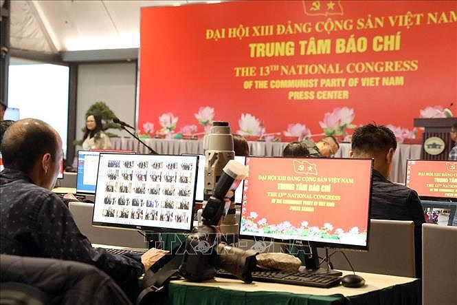 Best conditions possible provided to foreign media during Congress: Spokesperson hinh anh 1