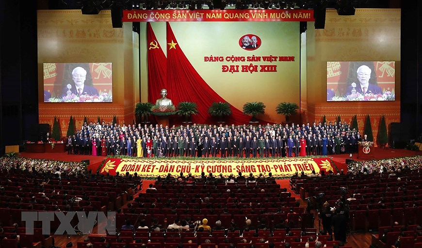Top Vietnamese leader receives congratulations from Chinese counterpart hinh anh 1