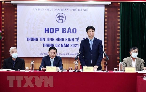Hanoi sees upbeat signals in socio-economic development despite COVID-19 hinh anh 1