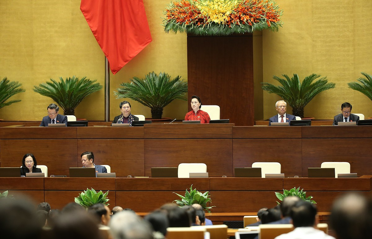 National Assembly - Highest organ of State power, highest representative body of the people hinh anh 5