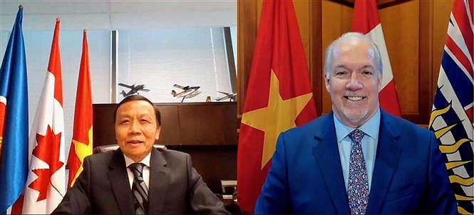 Vietnam reinforces ties with Canadian province hinh anh 1