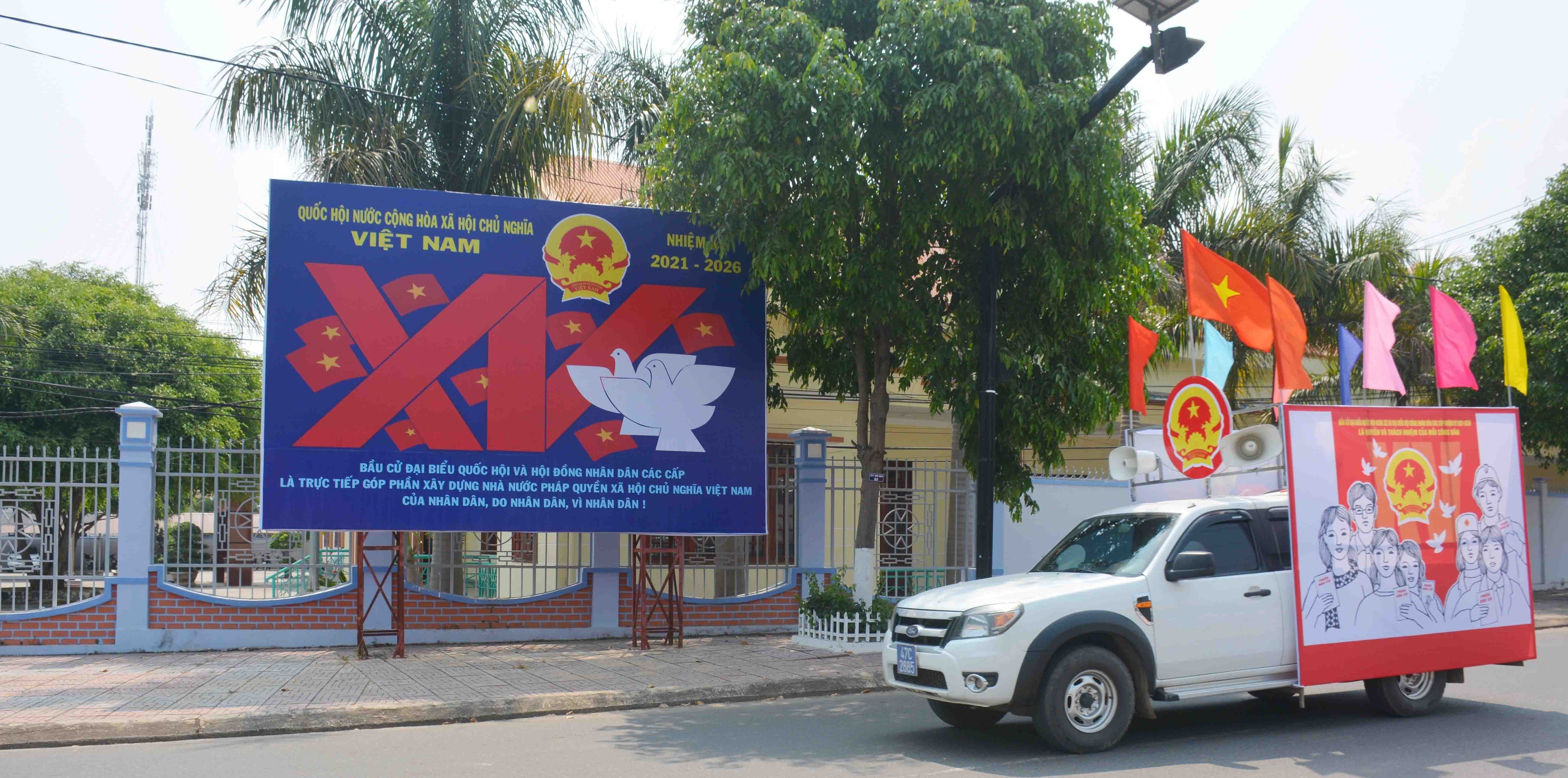 Two more provinces to hold early voting hinh anh 1
