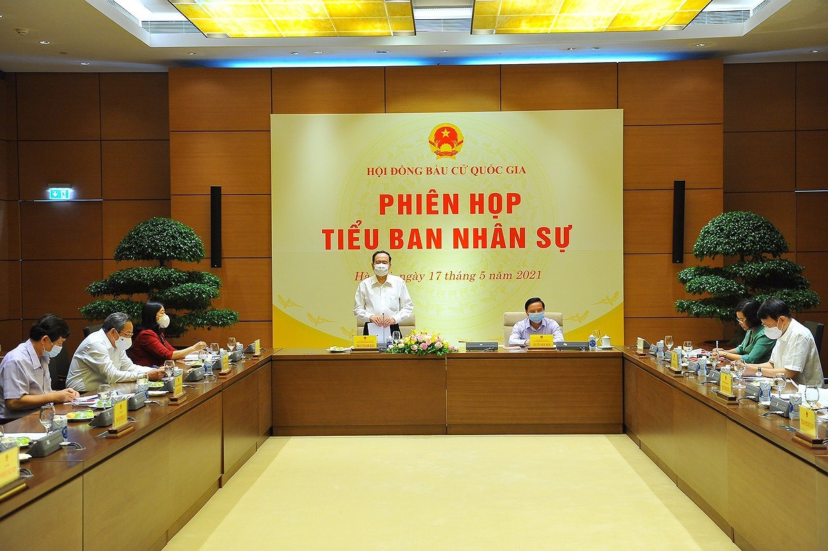 Personnel sub-committee of National Election Council meets hinh anh 1