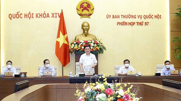 National Assembly Standing Committee's 57th meeting wraps up hinh anh 1