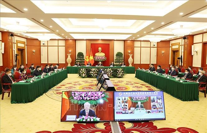 Party chief attends CPC and World Political Parties Summit hinh anh 3