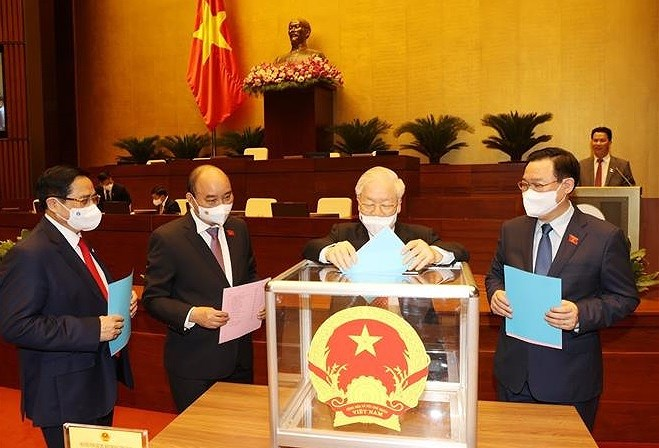 Legislature approves reappointment of four Deputy Prime Ministers hinh anh 1