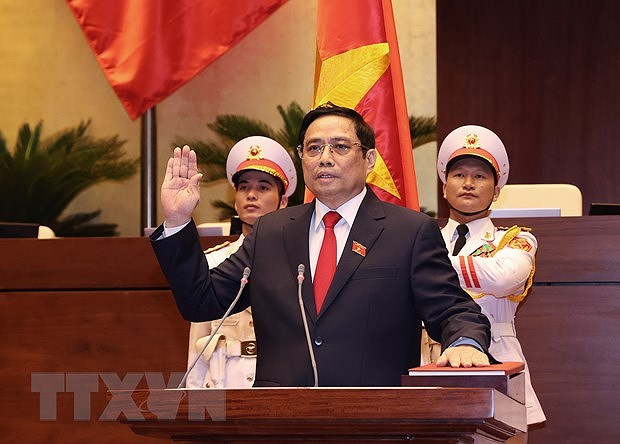 DPRK Cabinet Premier congratulates newly-elected Vietnamese PM hinh anh 1