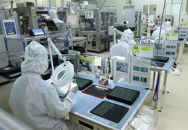 Electronics exports forecast to be robust this year hinh anh 1