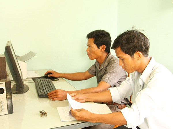 Ninh Thuan: ethnic communities assisted to effectivley use IT hinh anh 1