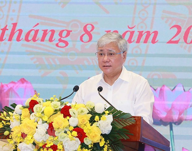Party leader attends Vietnam Fatherland Front's national conference hinh anh 2