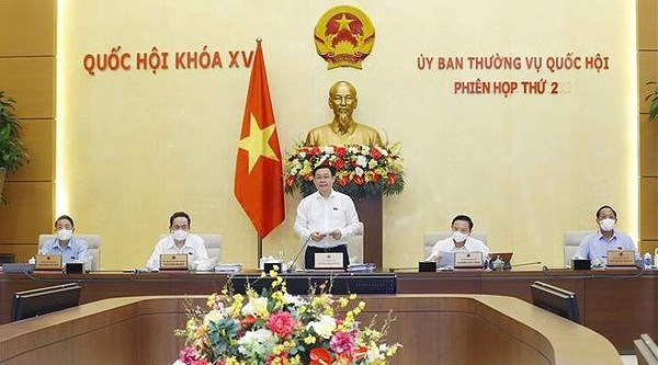 NA Standing Committee convenes second meeting hinh anh 1