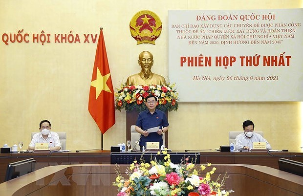 Strategy for building rule-of-law socialist State debated hinh anh 1