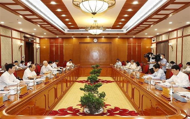 Corruption fight must be associated with negative phenomena prevention: Party chief hinh anh 2
