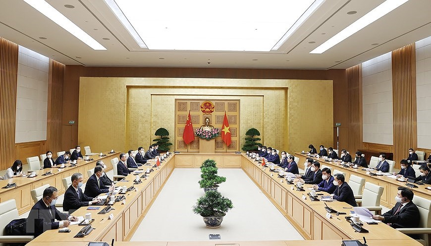 Vietnam treasures relations with China: PM Pham Minh Chinh hinh anh 2