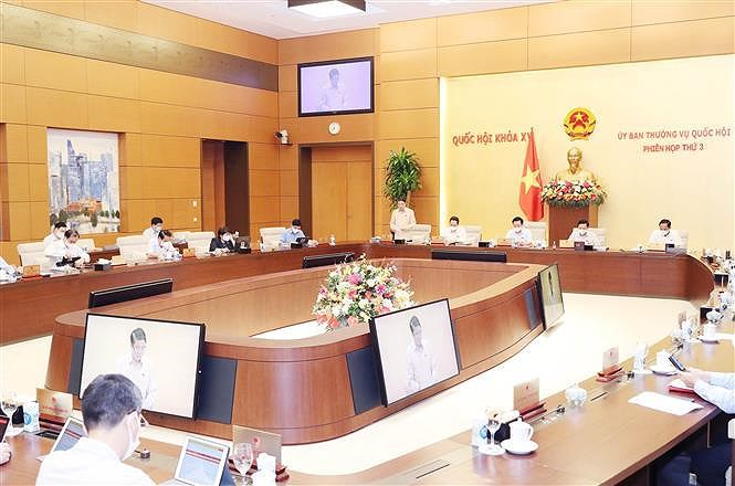 NA Standing Committee discusses State Audit Office's performance, work plan hinh anh 2