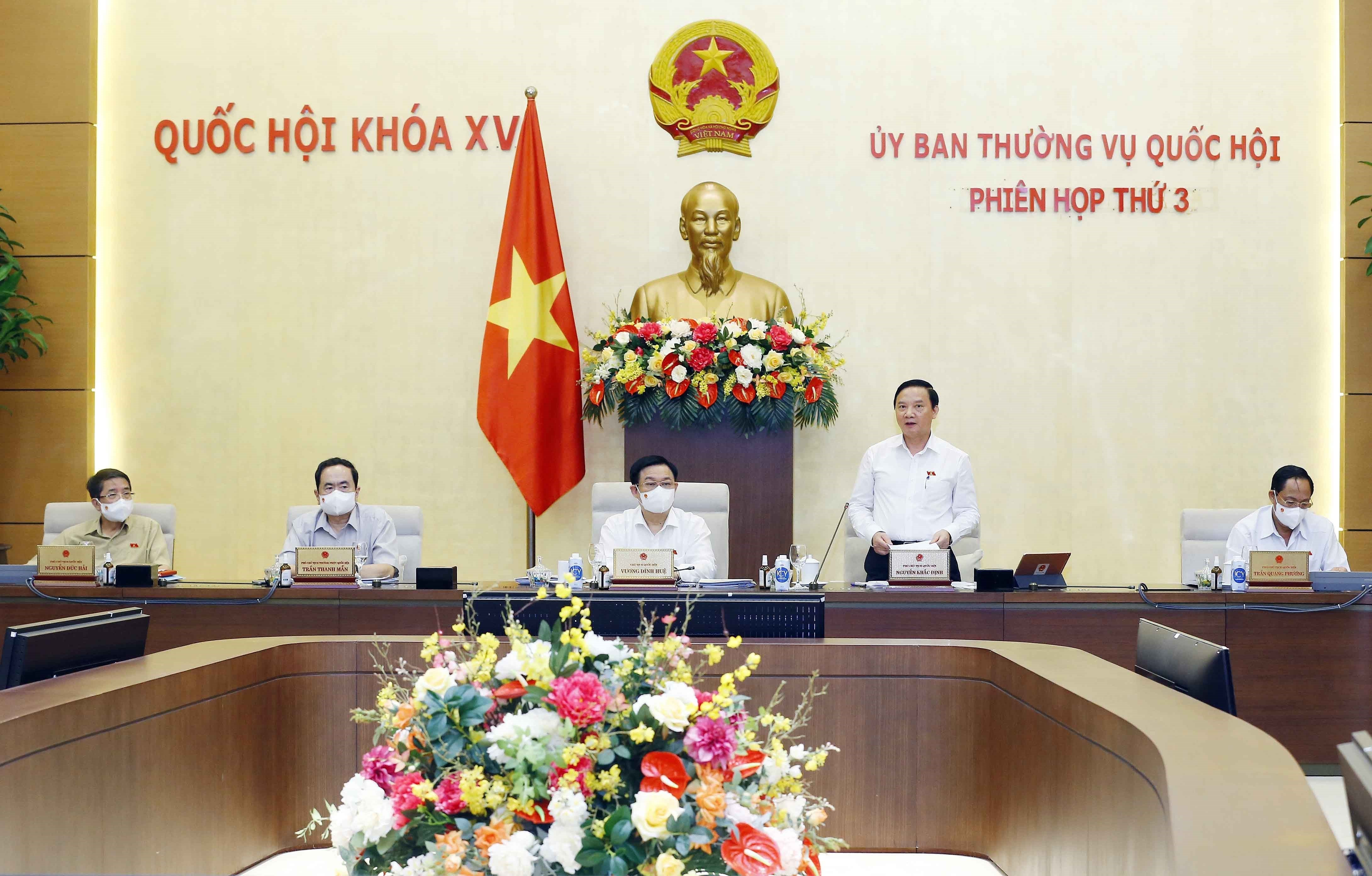 NA Standing Committee discusses reports by Government, Supreme Court, Supreme Procuracy hinh anh 1