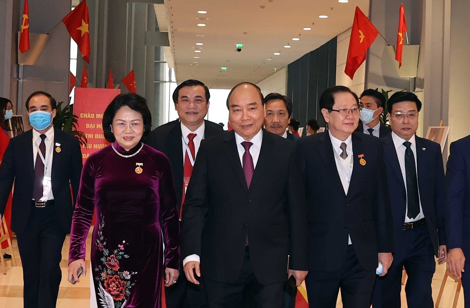 10th National Patriotic Emulation Congress opens in Hanoi hinh anh 2