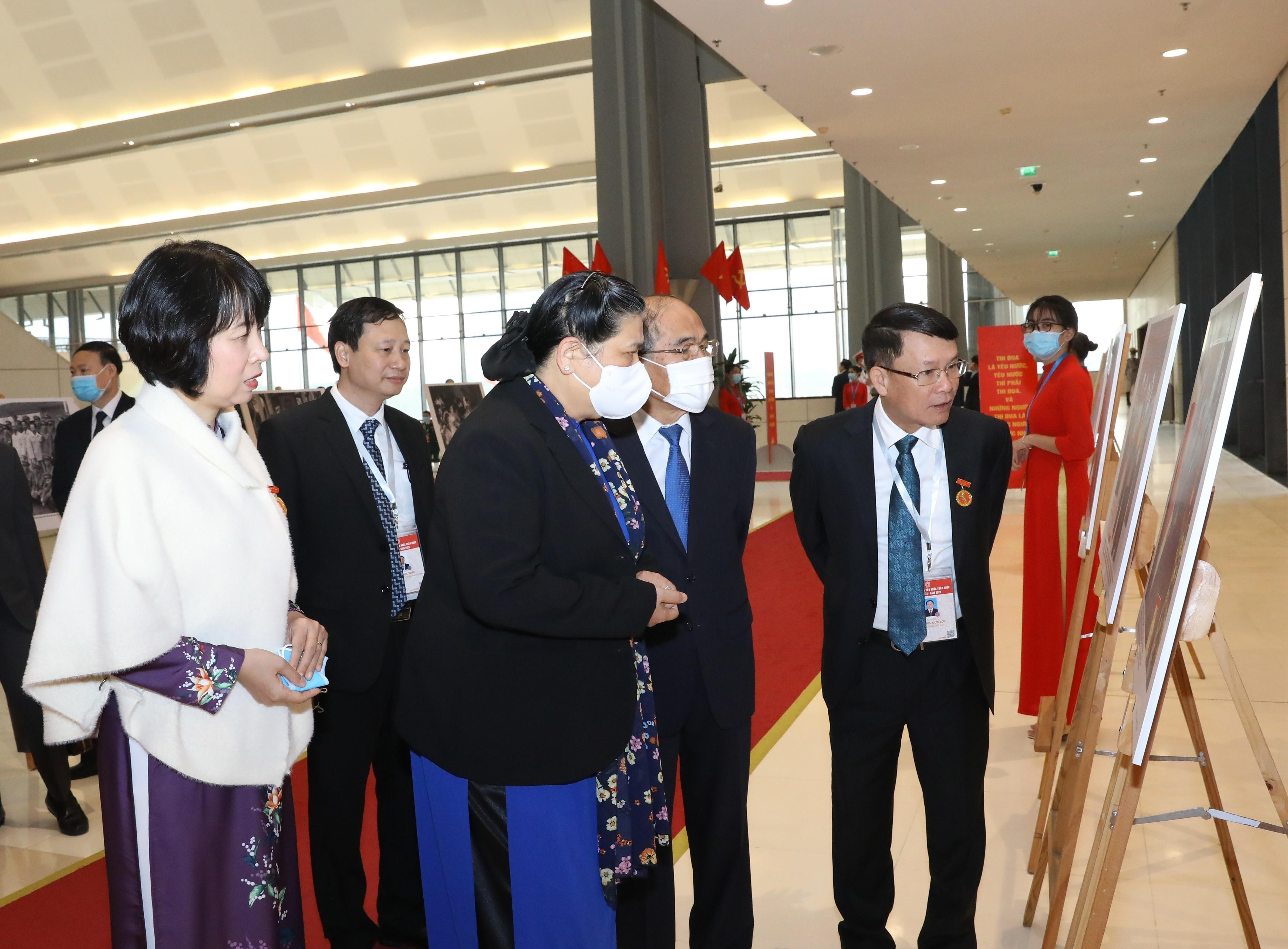 10th National Patriotic Emulation Congress opens in Hanoi hinh anh 13