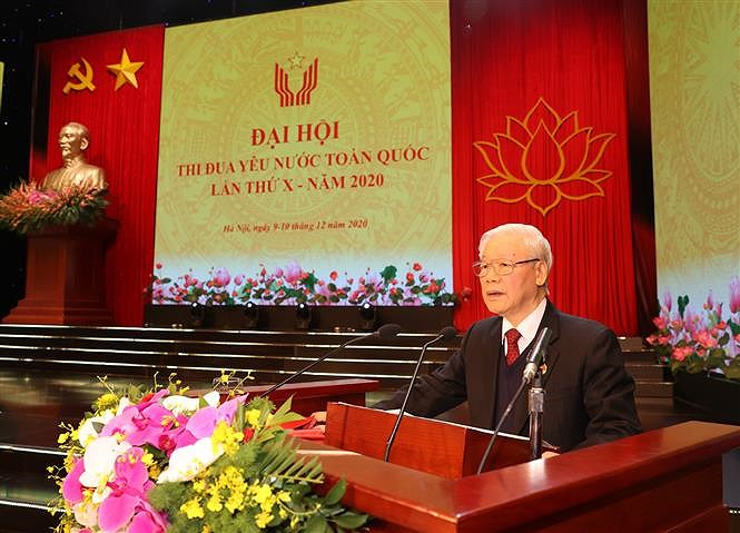 10th National Patriotic Emulation Congress opens in Hanoi hinh anh 9