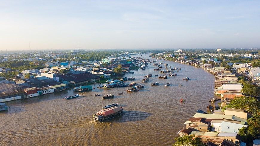 Cai Rang floating market – fantastic tourism hotspot in Mekong Delta hinh anh 1