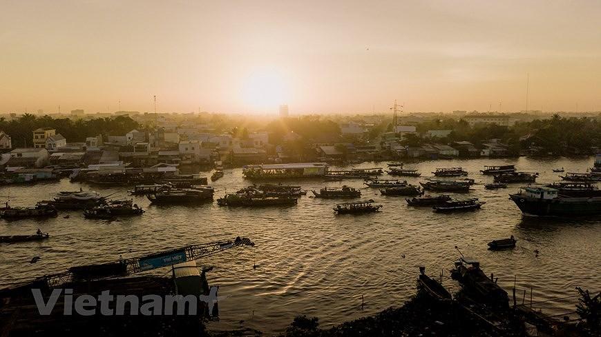 Cai Rang floating market – fantastic tourism hotspot in Mekong Delta hinh anh 3