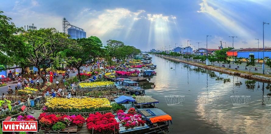 Vida cotidiana de Vietnam en fotografias hinh anh 1