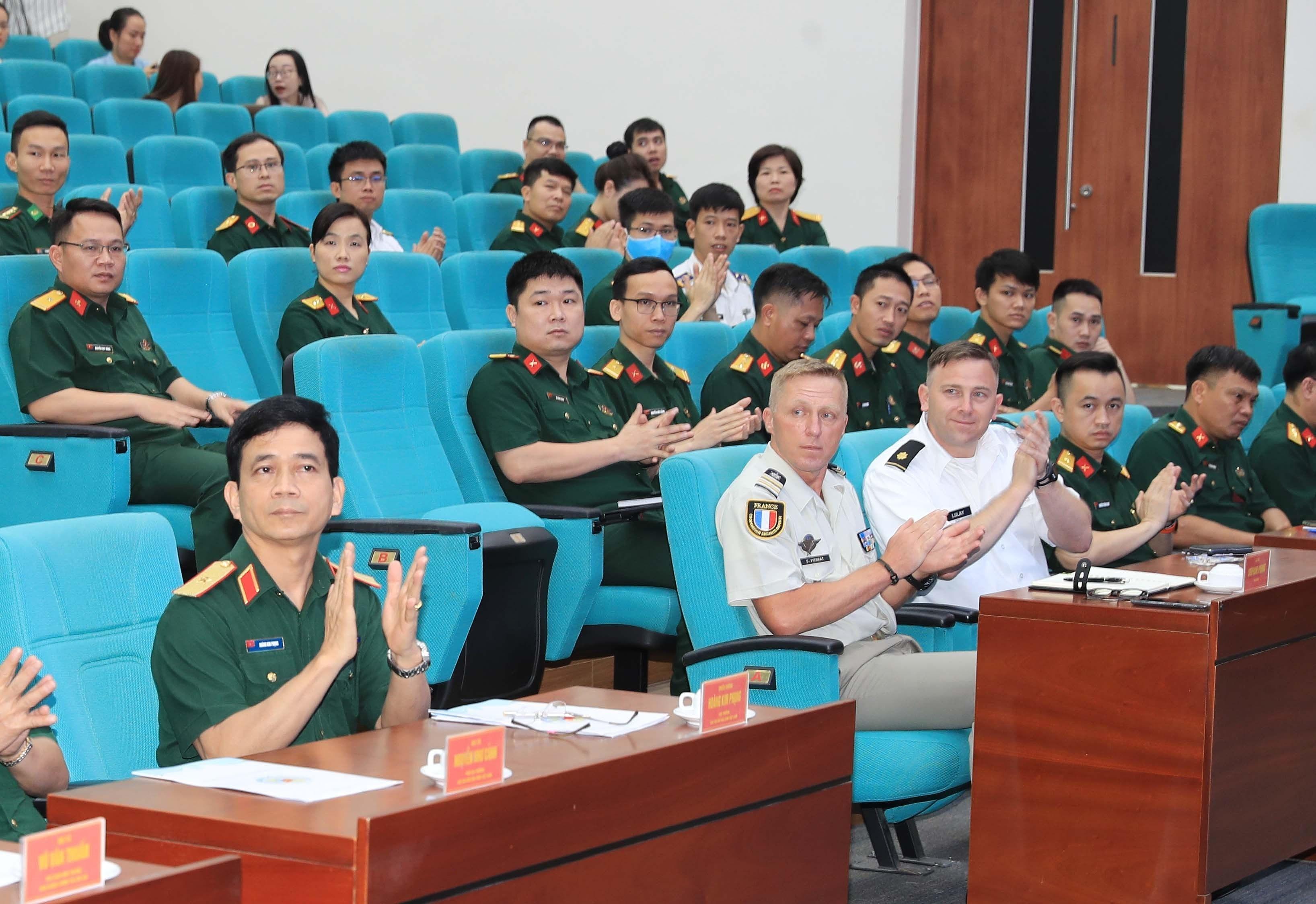 Incian en Vietnam curso de Estado Mayor de ONU hinh anh 1