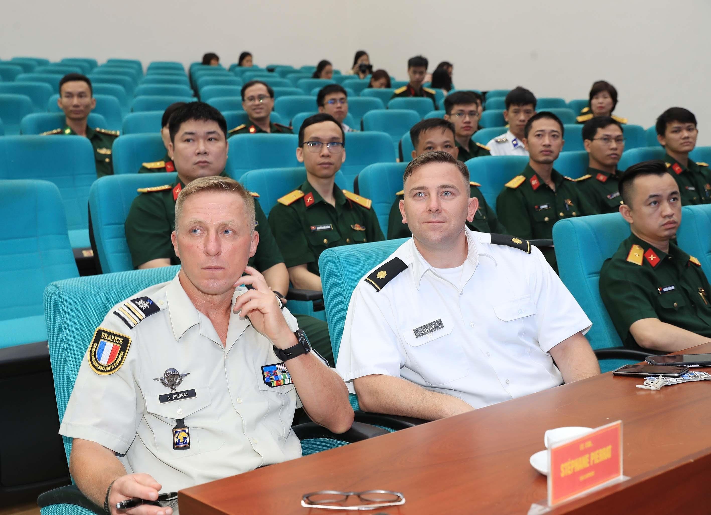 Incian en Vietnam curso de Estado Mayor de ONU hinh anh 2