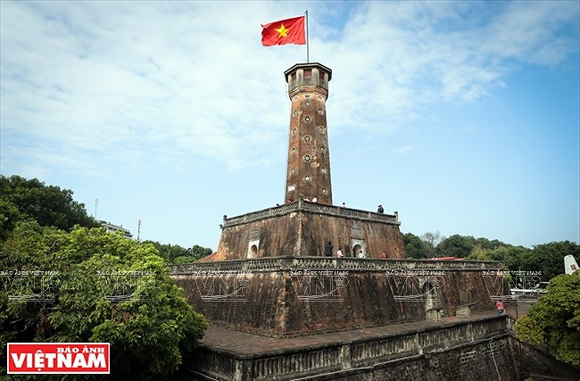 La Torre de la Bandera Nacional: testigo del desarrollo de la capital vietnamita hinh anh 1
