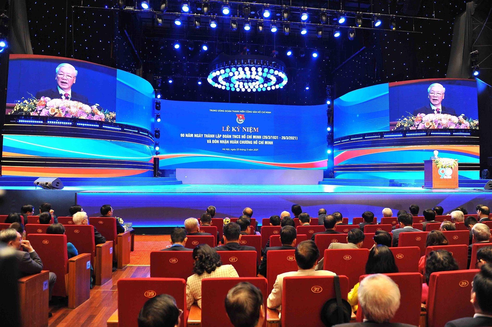 Ceremonia por el aniversario 90 de Union de Jovenes Comunistas Ho Chi Minh hinh anh 1
