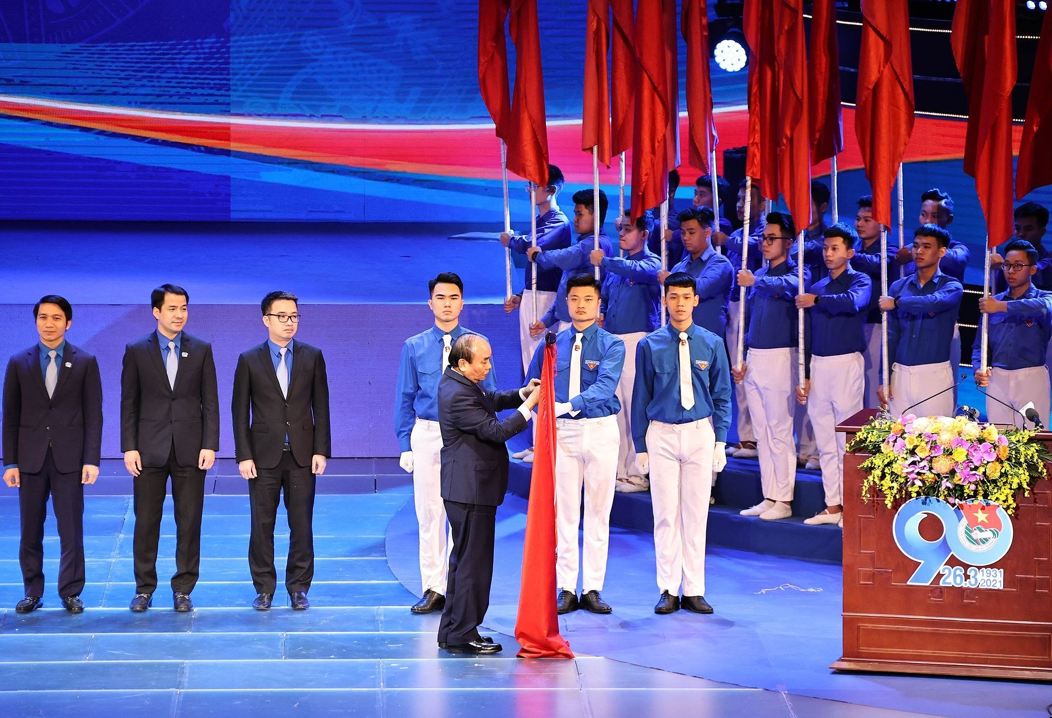 Ceremonia por el aniversario 90 de Union de Jovenes Comunistas Ho Chi Minh hinh anh 4
