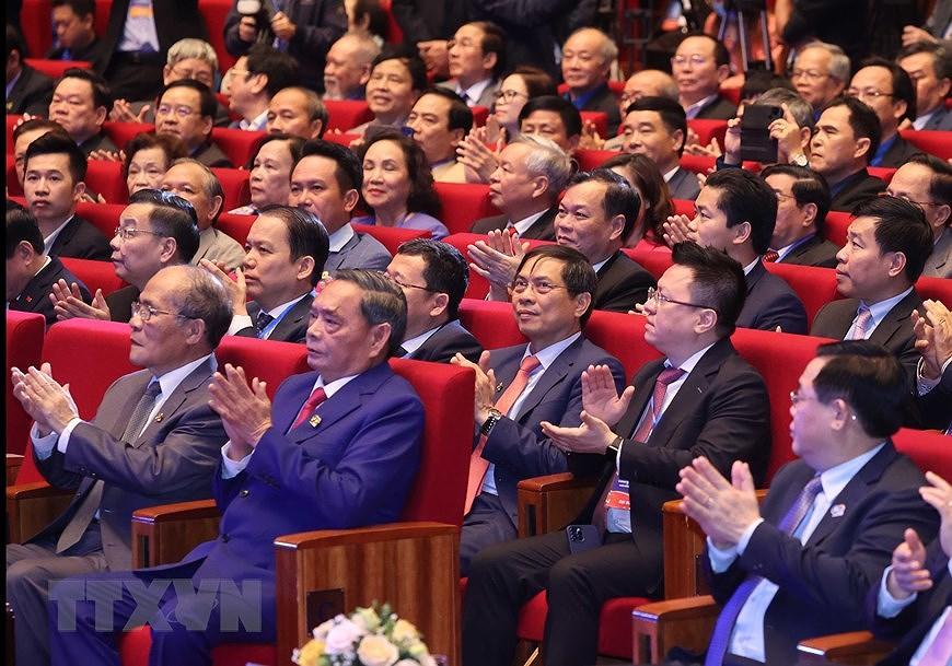 Ceremonia por el aniversario 90 de Union de Jovenes Comunistas Ho Chi Minh hinh anh 6