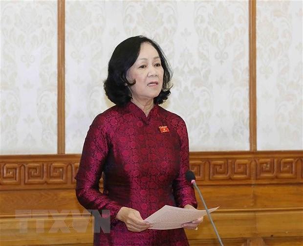 Partido Comunista de Vietnam continua perfeccionamiento de su dirigencia hinh anh 1