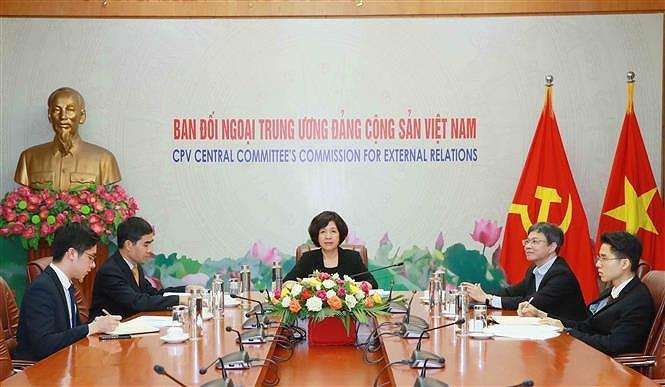 Partido Comunista de Vietnam participa en reunion virtual de ICAPP hinh anh 1