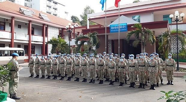 Valoran desempeno de fuerza de mantenimiento de la paz de Vietnam hinh anh 1
