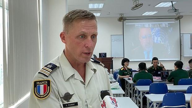 Valoran desempeno de fuerza de mantenimiento de la paz de Vietnam hinh anh 2