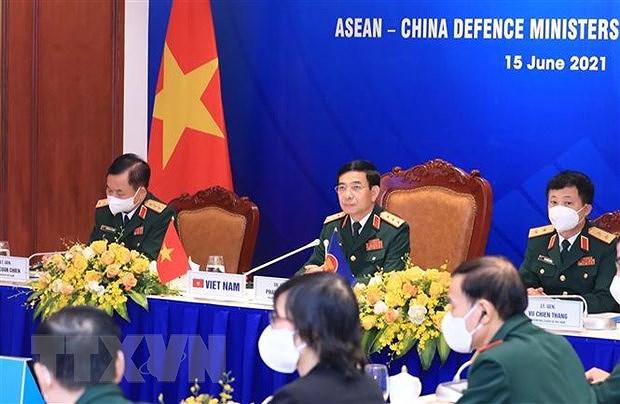 Resalta Vietnam importancia de lazos ASEAN- China en defensa hinh anh 1