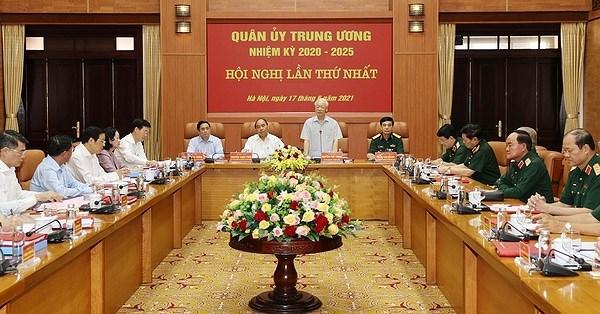 Sesiona Comision Militar Central del Partido Comunista de Vietnam hinh anh 1