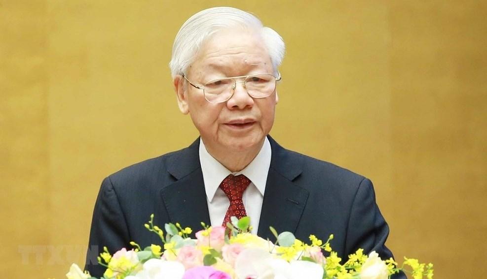 Articulo del maximo dirigente partidista de Vietnam resalta innovacion en construccion del socialismo hinh anh 1