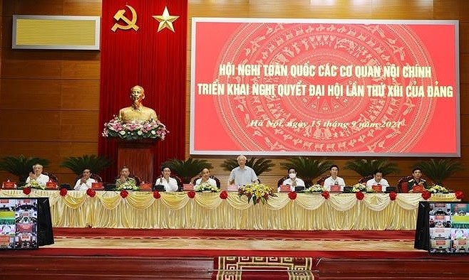 Organizan primera conferencia nacional de agencias de asuntos internos de Vietnam hinh anh 1
