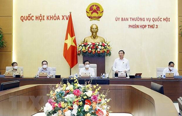 Comite Permanente de la Asamblea Nacional de Vietnam prosigue su tercera reunion hinh anh 1