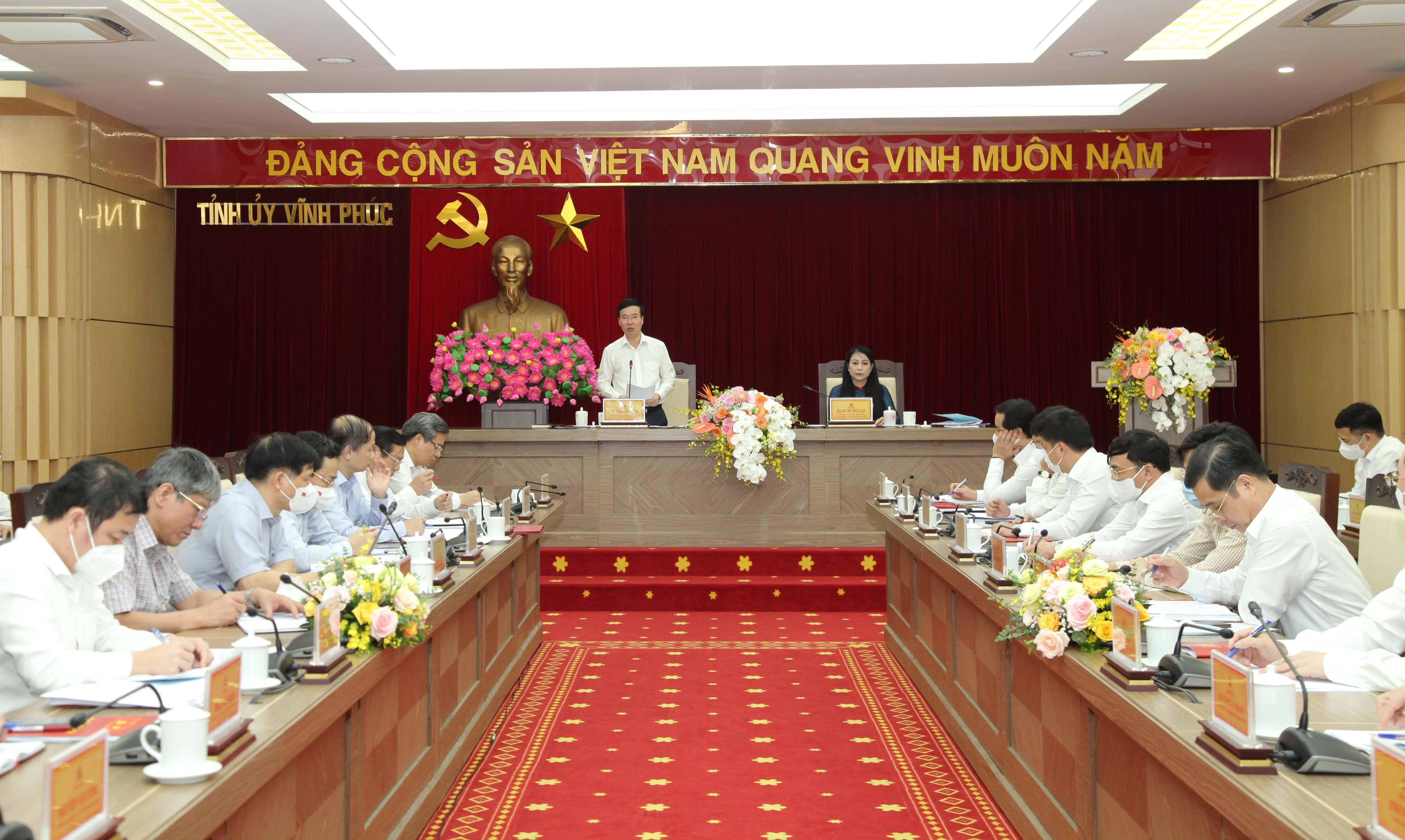 Revisan labores de construccion partidista en localidad vietnamita hinh anh 1