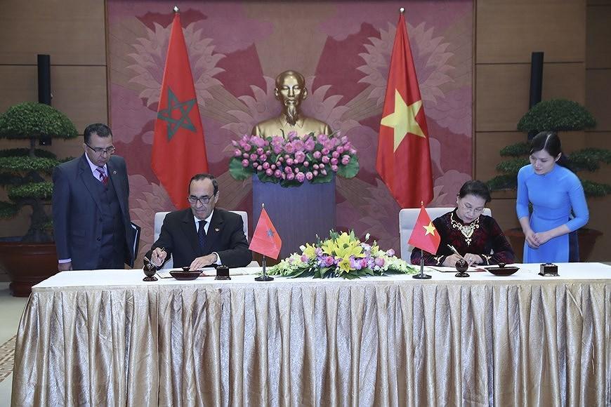 Vietnam y Marruecos celebran el 60 aniversario de relaciones diplomaticas hinh anh 4