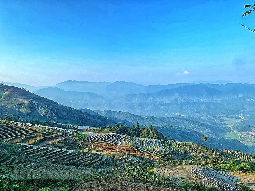 Belleza espectacular de las terrazas arroceras en la comuna de vietnamita Y Ty hinh anh 7