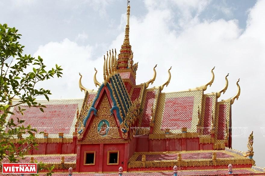 Pagoda Ghositaram: museo de bellas artes de los khmeres en Vietnam hinh anh 2
