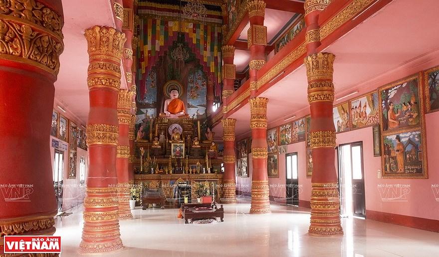 Pagoda Ghositaram: museo de bellas artes de los khmeres en Vietnam hinh anh 4