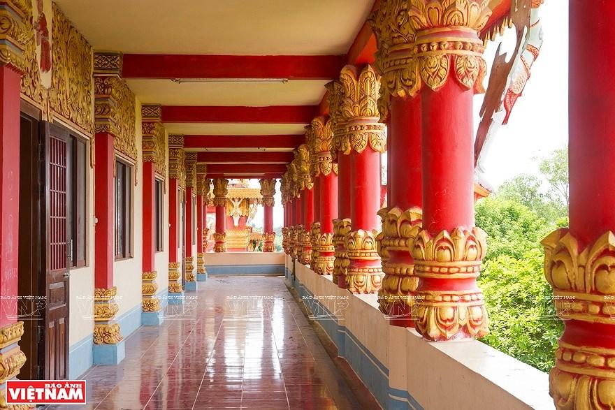 Pagoda Ghositaram: museo de bellas artes de los khmeres en Vietnam hinh anh 5