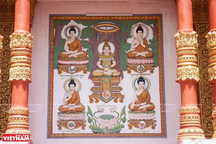 Pagoda Ghositaram: museo de bellas artes de los khmeres en Vietnam hinh anh 8