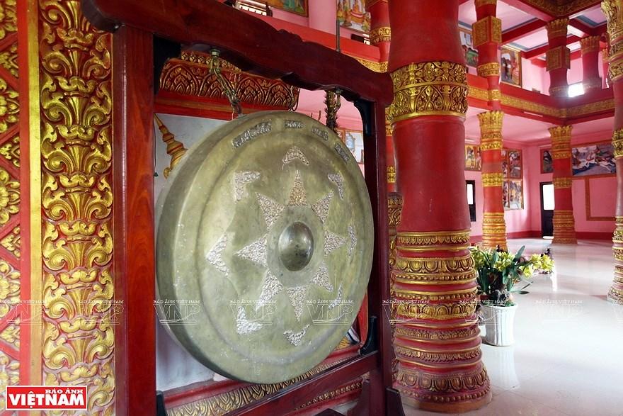 Pagoda Ghositaram: museo de bellas artes de los khmeres en Vietnam hinh anh 9