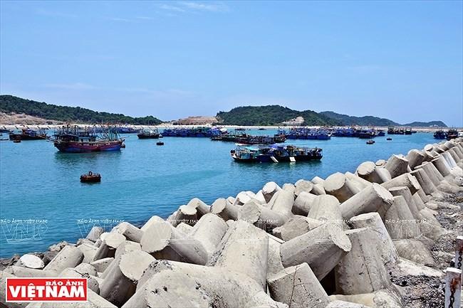 Mar y cielo de la isla vietnamita de Co To hinh anh 3